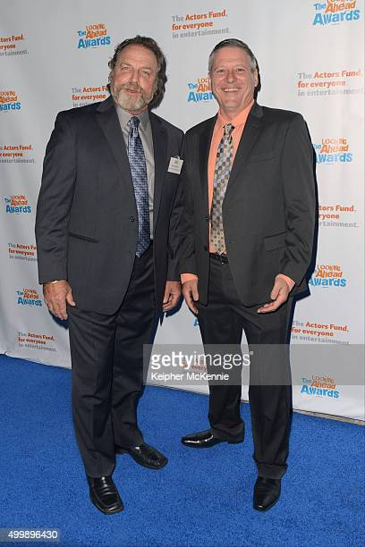 Actor Darby Hinton and guest attend The Actors Fund's 2015 Looking Ahead Awards at Taglyan Cultural Complex on December 3 2015 in Hollywood California