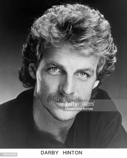 Actor Darby Hinton poses for a portrait in circa 1988