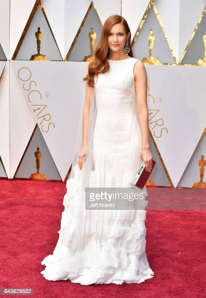 Actor Darby Stanchfield attends the 89th Annual Academy Awards at Hollywood Highland Center on February 26 2017 in Hollywood California