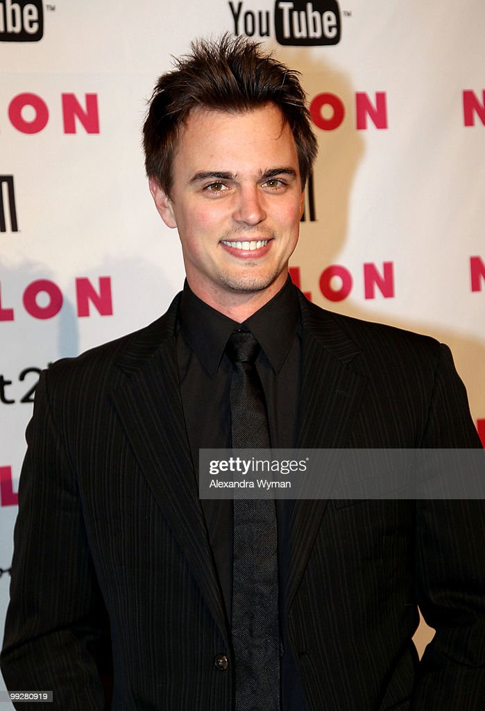 Actor Darin Brooks arrives at NYLON'S May Young Hollywood Event at Roosevelt Hotel on May 12, 2010 in Hollywood, California.