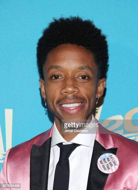 Actor Darrell BrittGibson attends the Fox Searchlight And 20th Century Fox Oscars PostParty on March 4 2018 in Los Angeles California