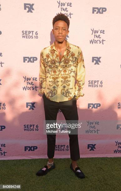 Actor Darrell BrittGibson attends the premiere of Season 4 of FXX's You're The Worst at Museum of Ice Cream LA on August 29 2017 in Los Angeles...