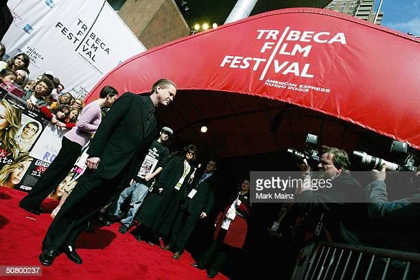 Actor Darrell Hammond poses at the gala premiere of New York Minute during the 2004 Tribeca Film Festival at Tribeca Performing Arts Center May 4...