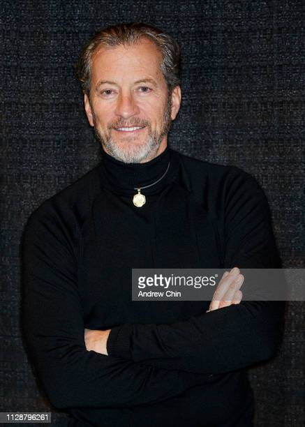 TV actor Darrell Miklos attends 2019 Vancouver International Boat Show at BC Place on February 10 2019 in Vancouver Canada