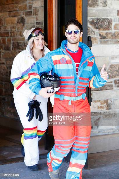 Actor Darren Criss and a guest attend Operation Smile's Celebrity Ski Smile Challenge Presented by the Rodosky Family on March 11 2017 in Park City...
