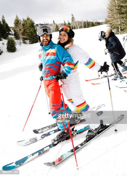 Actor Darren Criss and fiancee Mia Swier attend Operation Smile 7th Annual Park City ski challenge sponsored by The St Regis Deer Valley and Deer...