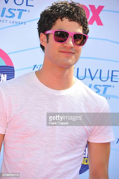 Actor Darren Criss arrives at the 2012 Teen Choice Awards held at the Gibson Amphitheatre in Universal City California