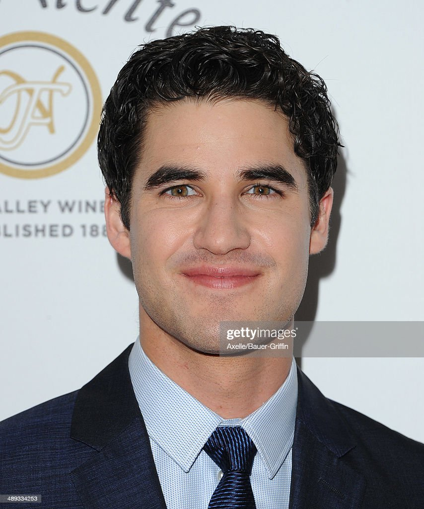 Actor Darren Criss arrives at the Jonsson Cancer Center Foundation's 19th Annual 'Taste For A Cure' at Regent Beverly Wilshire Hotel on April 25, 2014 in Beverly Hills, California.