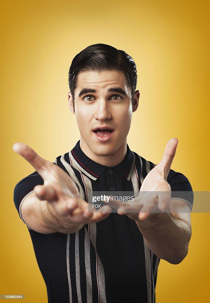 Actor Darren Criss as 'Blaine' on Season Four of GLEE airing on Thursdays (9:00-10:00 PM ET/PT) on FOX.