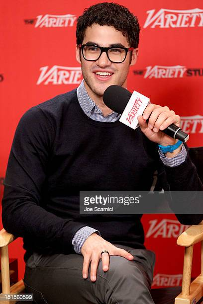 Actor Darren Criss at Variety Studio presented by Moroccanoil on Day 1 at Holt Renfrew, Toronto during the 2012 Toronto International Film Festival...