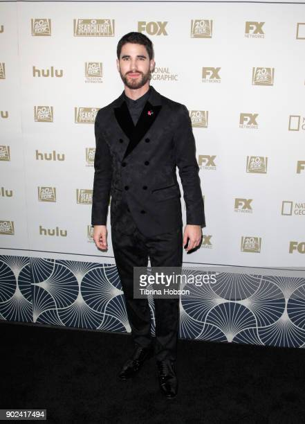 Actor Darren Criss attends FOX FX and Hulu 2018 Golden Globe Awards After Party at The Beverly Hilton Hotel on January 7 2018 in Beverly Hills...