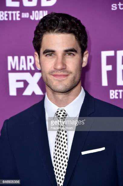 Actor Darren Criss attends FX Network's Feud Bette and Joan premiere at Grauman's Chinese Theatre on March 1 2017 in Hollywood California