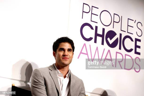 Actor Darren Criss attends the 2014 People's Choice Awards nominations announcement held at The Paley Center for Media on November 5 2013 in Beverly...