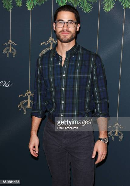Actor Darren Criss attends the Brooks Brothers and StJude Annual Holiday Party at Brooks Brothers Rodeo on December 2 2017 in Beverly Hills California