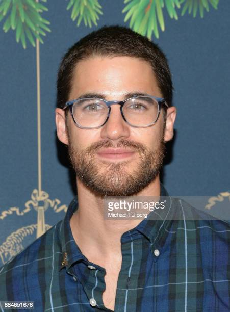 Actor Darren Criss attends the Brooks Brothers holiday celebration with St Jude Children's Research Hospital at Brooks Brothers Rodeo on December 2...