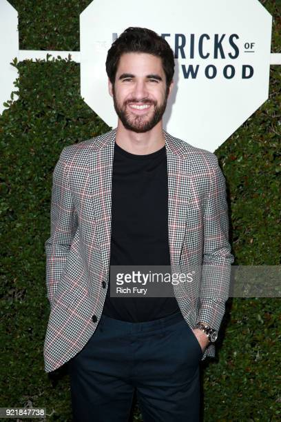 Actor Darren Criss attends the Esquire's Annual Maverick's of Hollywood at Sunset Tower on February 20 2018 in Los Angeles California