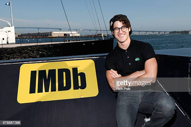 Actor Darren Criss attends the IMDb Yacht at San Diego ComicCon 2016 Day Three at The IMDb Yacht on July 23 2016 in San Diego California