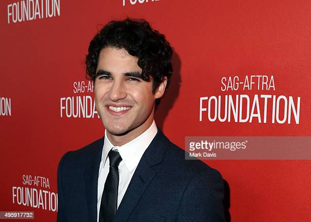 Actor Darren Criss attends the Screen Actors Guild Foundation 30th Anniversary Celebration at Wallis Annenberg Center for the Performing Arts on...