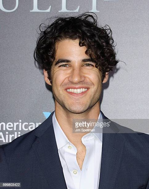 """Actor Darren Criss attends the """"Sully"""" New York premiere at Alice Tully Hall, Lincoln Center on September 6, 2016 in New York City."""