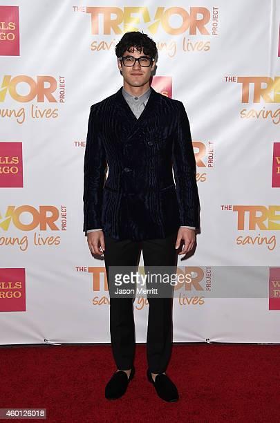 Actor Darren Criss attends 'TrevorLIVE LA' Honoring Robert Greenblatt Yahoo and Skylar Kergil for The Trevor Project at Hollywood Palladium on...