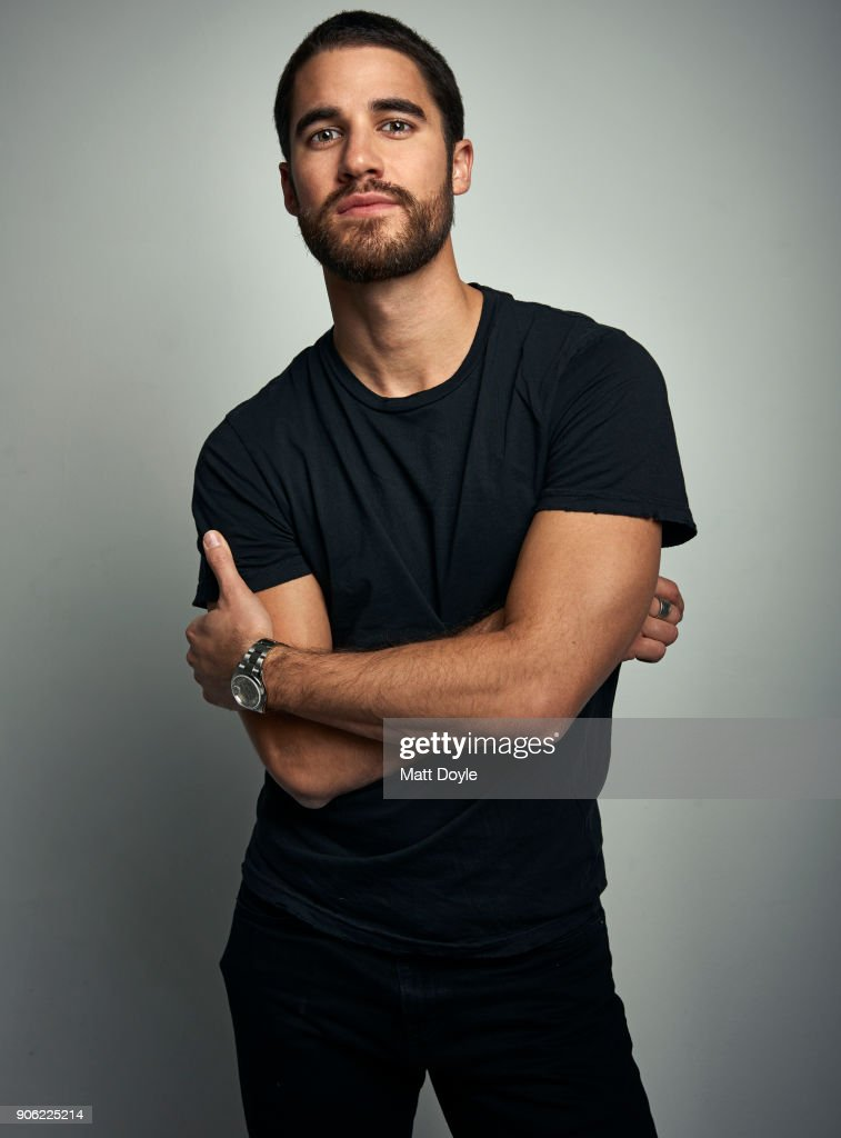 Darren Criss, Backstage, January 10, 2018