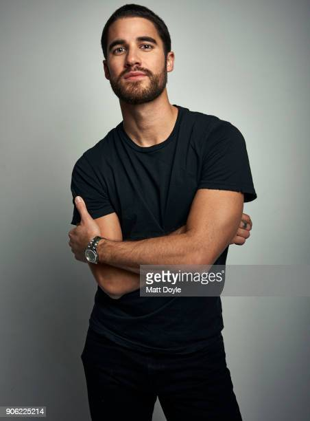 Actor Darren Criss is photographed for Back Stage on December 11 2017 in New York City COVER IMAGE