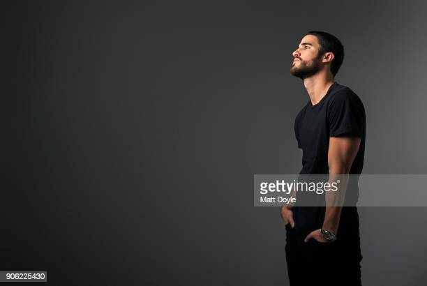Actor Darren Criss is photographed for Back Stage on December 11 2017 in New York City PUBLISHED IMAGE