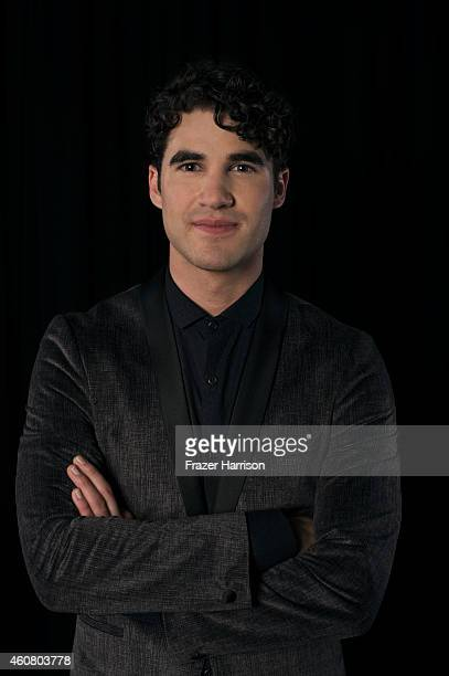 Actor Darren Criss poses for a portrait at Logo TV's NewNowNext Awards on December 2 2014 at Kimpton Surfcomber Hotel in Miami Beach Florida