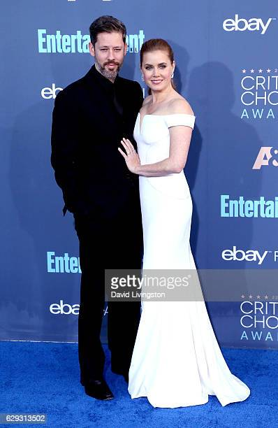 Actor Darren Le Gallo and actress Amy Adams attend the 22nd Annual Critics' Choice Awards at Barker Hangar on December 11 2016 in Santa Monica...