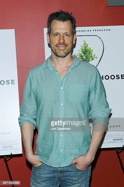 Actor Darren Pettie attends the 'Time To Choose' New York screening at Landmark's Sunshine Cinema on June 1 2016 in New York City