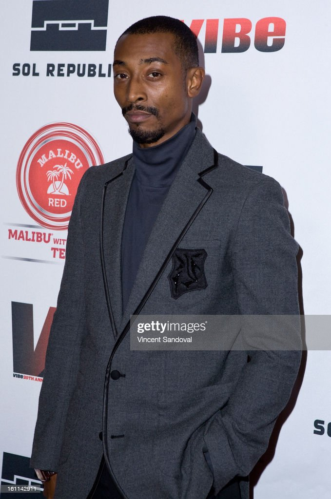 Actor Darris Love attends VIBE Magazine's 20th anniversary celebration with inaugural impact awards - Arrivals at Sunset Tower on February 8, 2013 in West Hollywood, California.