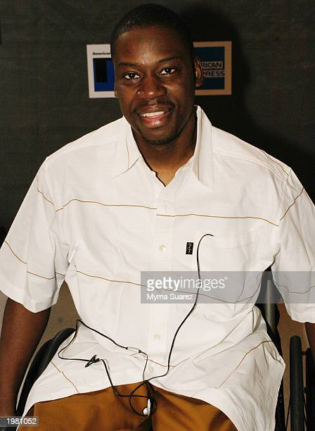 Actor Darryl 'Chill' Mitchell attends the Black Filmmaker Foundation 25th Anniversary Party at the Tribeca Film Festival May 7 2003 in New York City
