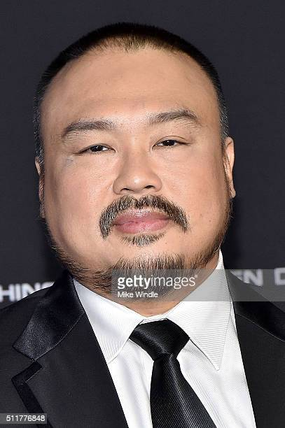 Actor Darryl Quon attends the premiere of Netflix's Crouching Tiger Hidden Dragon Sword Of Destiny at AMC Universal City Walk on February 22 2016 in...