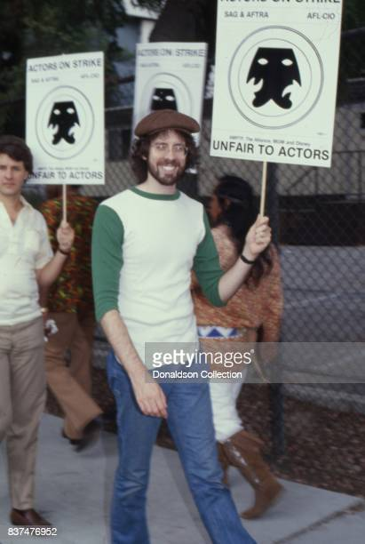 Actor Daryl Anderson attend SAG and AFTRA Actors On Strike in circa 1980 in Los Angeles California
