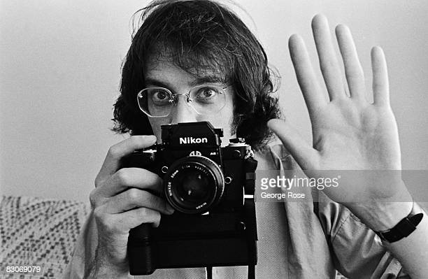 """Actor Daryl Anderson, who plays the photographer """"Animal"""" on the """"Lou Grant"""" TV series, poses during a 1979 Los Angeles, California, photo portrait..."""