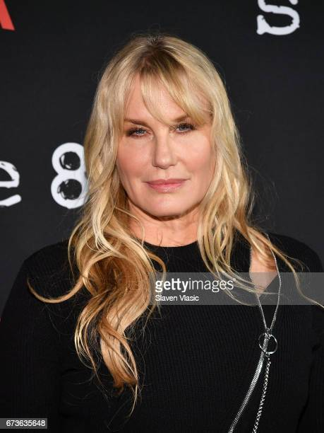 Actor Daryl Hannah attends Sense8 New York Premiere at AMC Lincoln Square Theater on April 26 2017 in New York City