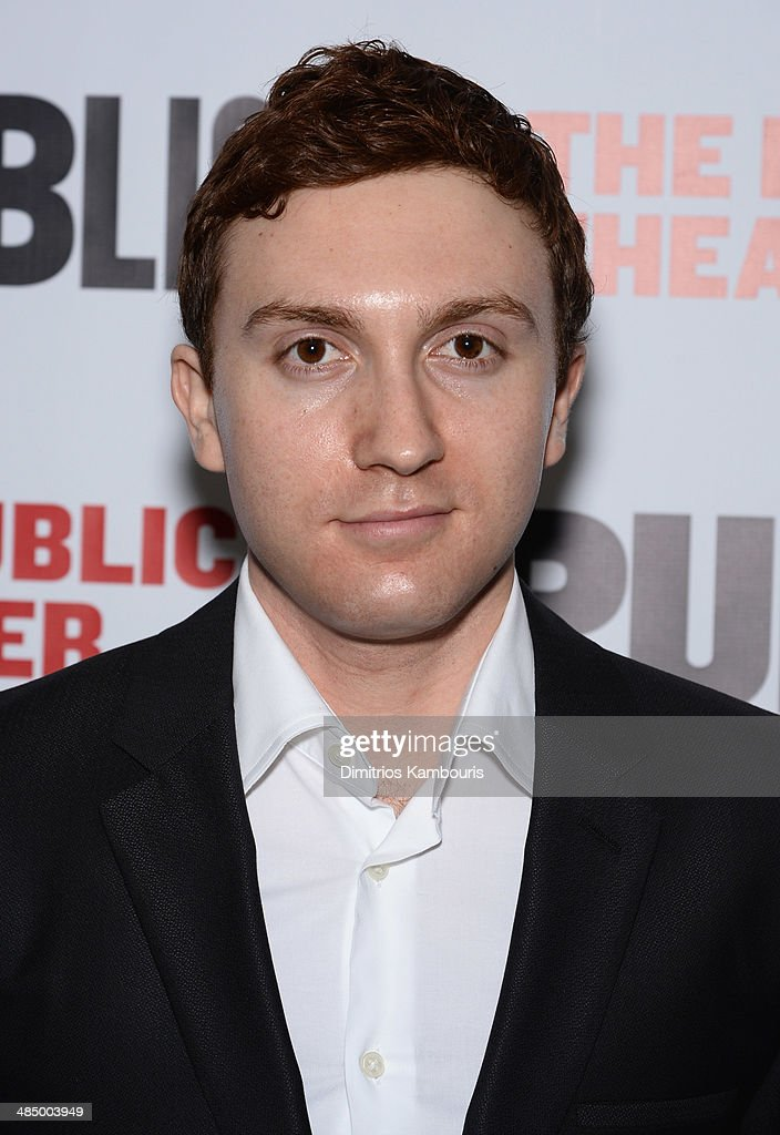 Actor Daryl Sabara attends 'The Library' opening night celebration at The Public Theater on April 15, 2014 in New York City.