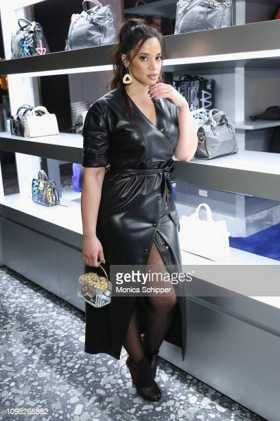 Actor Dascha Polanco attends as Saks Celebrates New Main Floor With Lupita Nyong'o Carine Roitfeld And Musical Performance By Halsey on February 7...