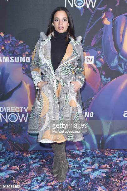 Actor Dascha Polanco attends the 2018 DIRECTV NOW Super Saturday Night Concert at NOMADIC LIVE at The Armory on February 3 2018 in Minneapolis...