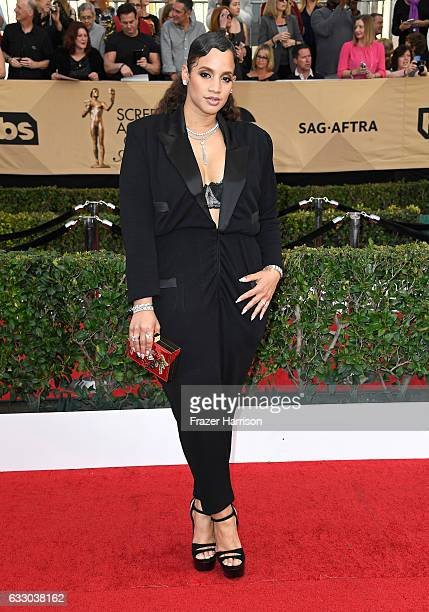 Actor Dascha Polanco attends The 23rd Annual Screen Actors Guild Awards at The Shrine Auditorium on January 29 2017 in Los Angeles California...