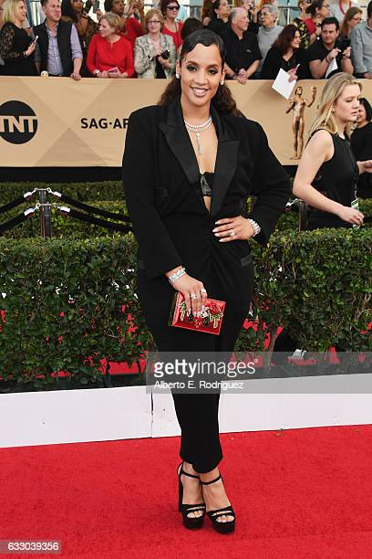 Actor Dascha Polanco attends the 23rd Annual Screen Actors Guild Awards at The Shrine Expo Hall on January 29 2017 in Los Angeles California