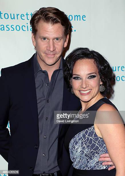 Actor Dash Mihok and wife singer Valeria Mason attend the 2nd Annual Hollywood Heals Spotlight On Tourette Syndrome at House of Blues Sunset Strip on...