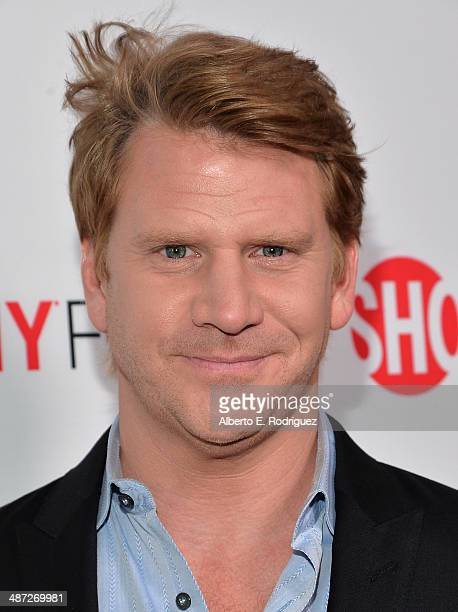 Actor Dash Mihok arrive to an exclusive conversation with the cast of Showtime's Ray Donovan at Leonard H Goldenson Theatre on April 28 2014 in North...