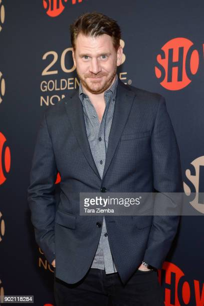 Actor Dash Mihok attends the Showtime Golden Globe Nominees Celebration at Sunset Tower on January 6 2018 in Los Angeles California