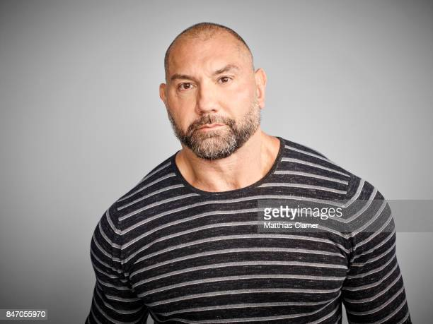 Actor Dave Bautista from 'Guardians of the Galaxy Vol 2' is photographed for Entertainment Weekly Magazine on July 23 2016 at Comic Con in the Hard...