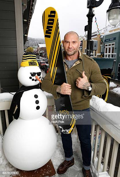 Actor Dave Bautista of 'Bushwick' attends The IMDb Studio featuring the Filmmaker Discovery Lounge presented by Amazon Video Direct Day Two during...