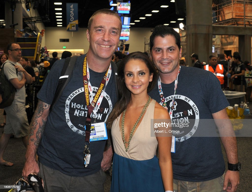 Actor Dave Brockie, actress Laura Ortiz and actor Adam Green attend Day 1 of the 2013 Comic-Con International - General Atmosphere held at San Diego Convention Center on Thursday July 18, 2012 in San Diego, California.
