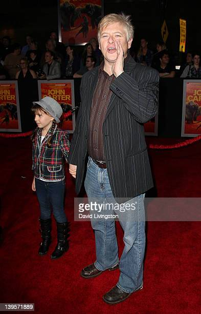 Actor Dave Foley and daughter actress Alina Foley attend the premiere of Walt Disney Pictures' 'John Carter' at Regal Cinemas LA Live on February 22...