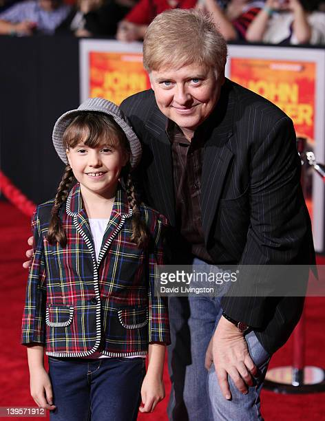 Actor Dave Foley and daughter actress Alina Foley attend the premiere of Walt Disney Pictures' John Carter at Regal Cinemas LA Live on February 22...