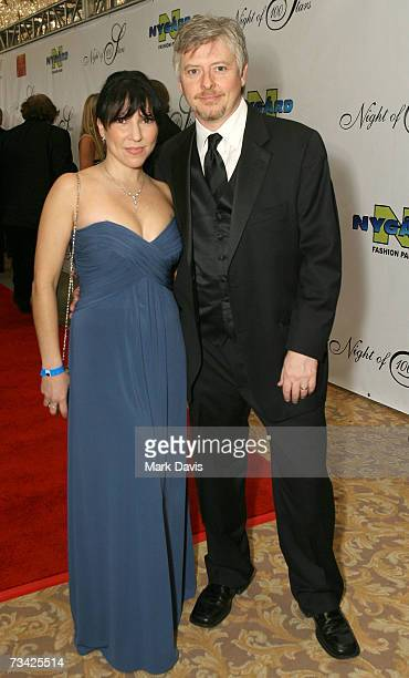 Actor Dave Foley and wife Crissy Guerrero attend the 17th Annual Night Of 100 Stars Oscar Gala held at the Beverly Hills Hotel on February 25 2007 in...